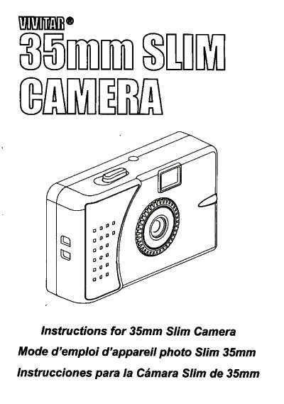 Vivitar Ultra Wide and Slim 35mm film camera