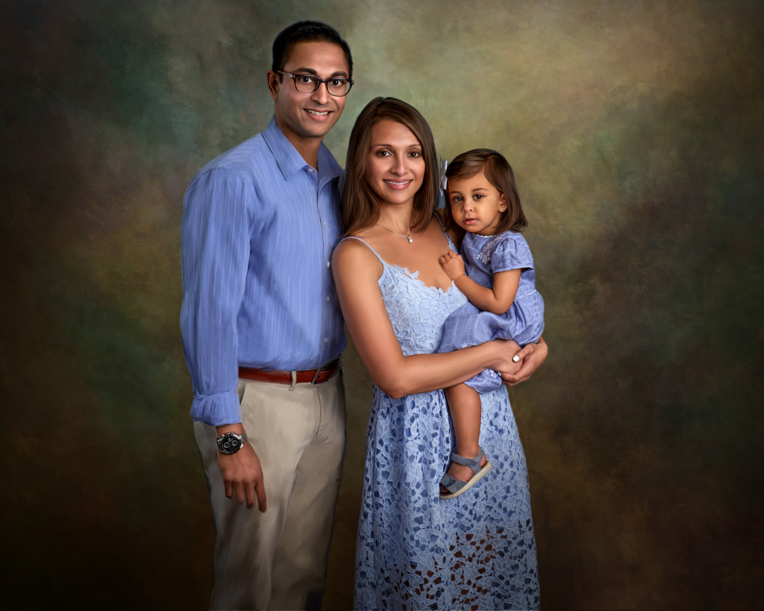 family portraits okc
