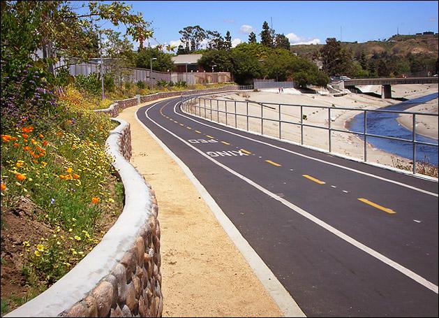 Del Rey - Ballona Creek Bike Path 2
