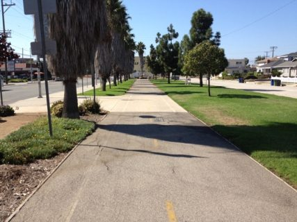 Del Rey - Culver Boulevard Bike Path