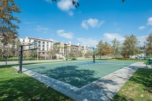 Basketball Court at Playa Vista Sports Park in Playa Vista, CA