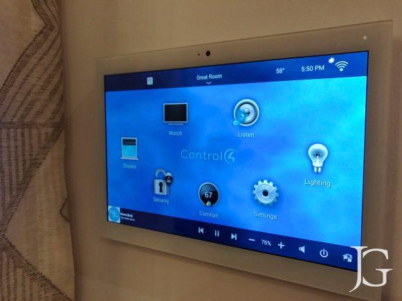 Jewel Playa Vista Plan 1 Smart Home System iPad