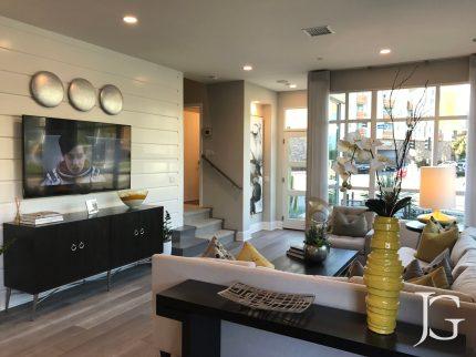 Marlowe Playa Vista Model Home Plan 1 Living Room