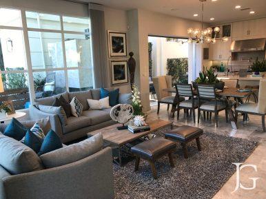 Marlowe Playa Vista Plan 2 Living Room