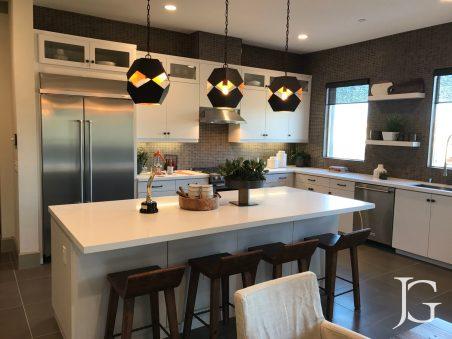Mason Playa Vista Plan 1 Model Kitchen