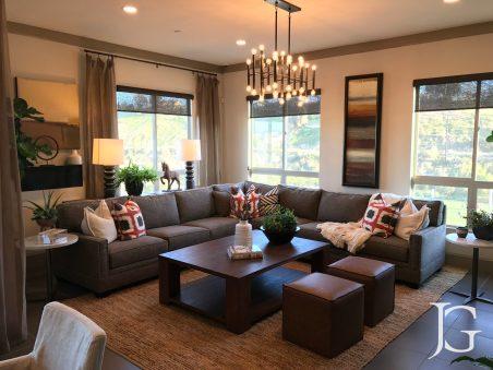 Mason Playa Vista Plan 1 Model Living Room