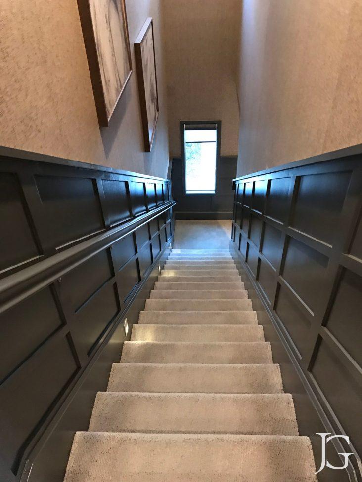 Mason Playa Vista Plan 3 Model Staircase to Lower Level
