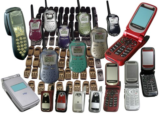 Cell phones & 2-way radios (Motorola, Intel, Cobra)