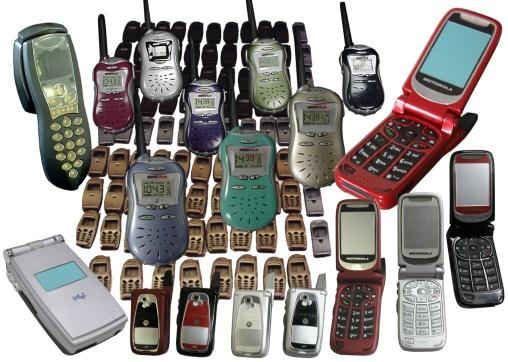 Cell phones & 2-way radios (Motorola, Intel, Cobra)
