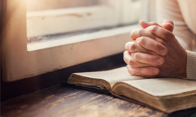 Pray about what you read about