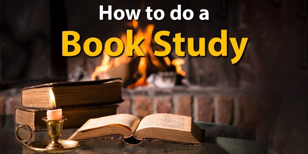 How to Start a Bible Book Study