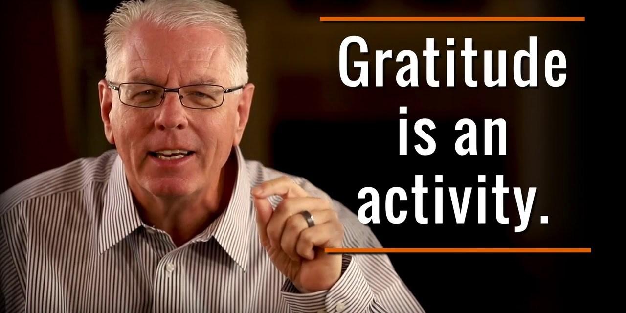 Making gratitude permanent