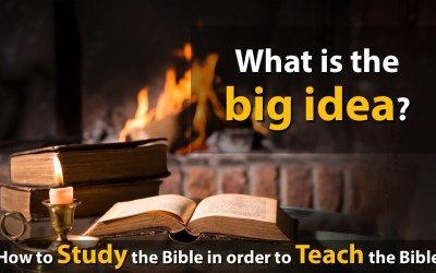 What is the big idea?