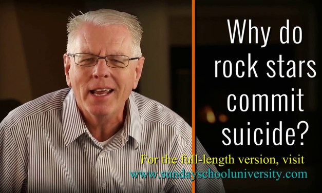 Why Do Rock Stars Commit Suicide?