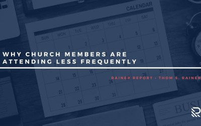 Why Church Members Are Attending Less Frequently