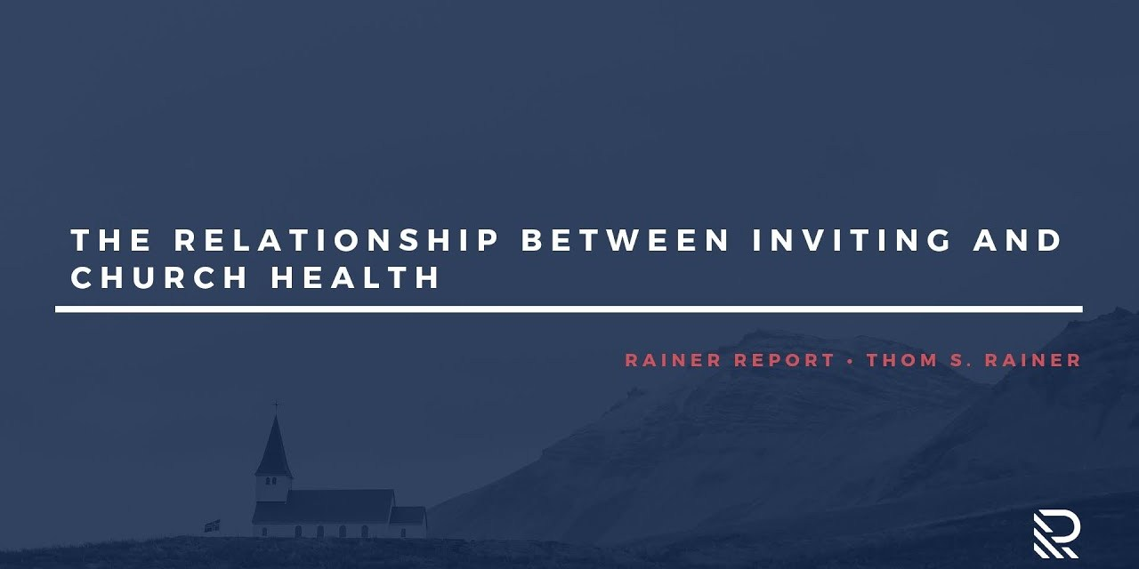 The Relationship between Inviting and Church Health