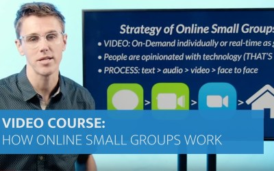 How Online Small Groups Work