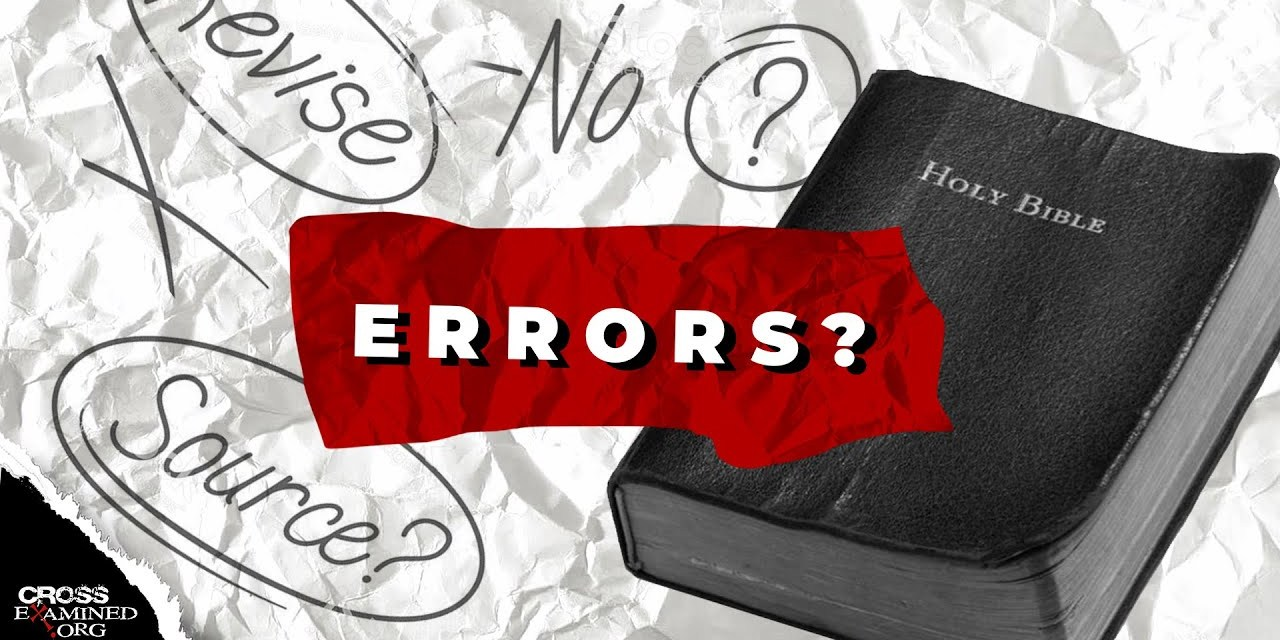 Errors in the Bible?