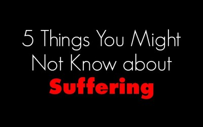 5 things you might not know about suffering