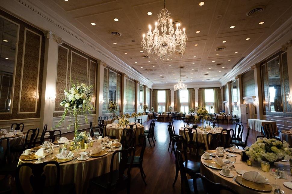 Poinsett Club Greenville Wedding Photos and Info  J Jones Photography