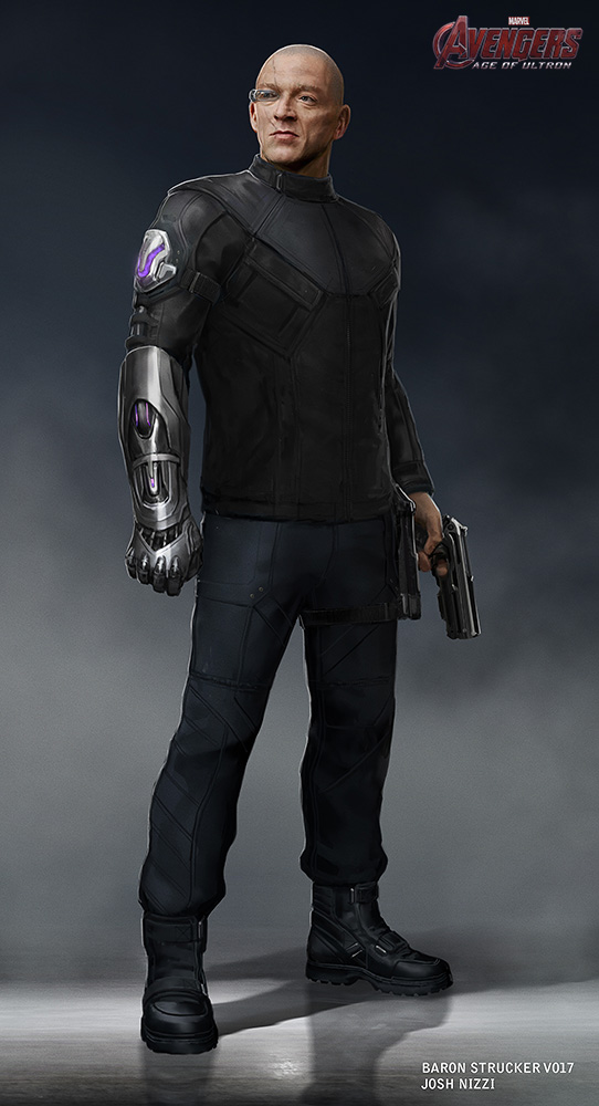 Baron Von Strucker Agents Shield