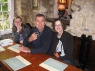 Charlotte, Uncle Raymond, Mom at the Turf Tavern