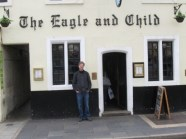 The Eagle and Child pub where Tolkien, Lewis and The Inklings met