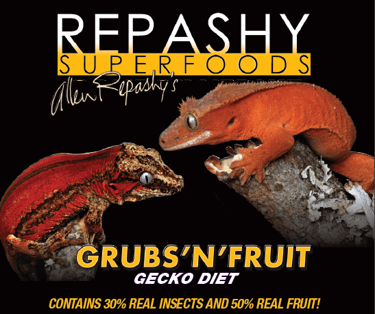 Repashy Grubs 'N' Fruit - available soon at Josh's Frogs!