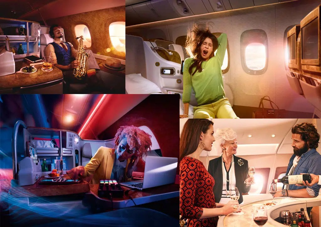 a chair affair galvanized metal what it's really like flying emirates airlines business class