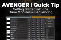 Avenger Tutorial: Drum Kits & Sequences Introduction [quicky]