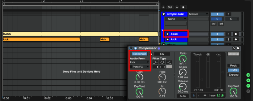 basic-compressor-sidechain-routing-ableton-live