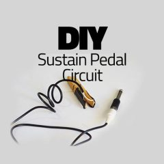 How To Build A DIY MIDI Sustain Pedal Circuit