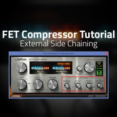 Ableton Tutorial: FET Compressor External Side Chain Set Up