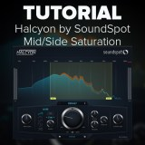 Tutorial: Mid/Side Saturation Control with Halcyon