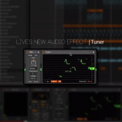 Live 9.2 | Tuner |First Look at the New Audio Effect