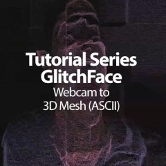 Max Tutorial: Webcam to 3D Mesh [ASCII]