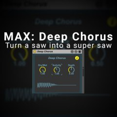 Max Device – Deep Chorus from Amazing Noises [Free]