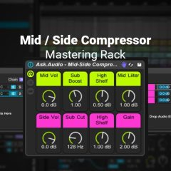 Ableton Tutorial: Multiband Mid/Side Compressor Mastering Rack