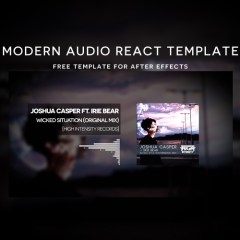 After Effects Template | Modern Audio React