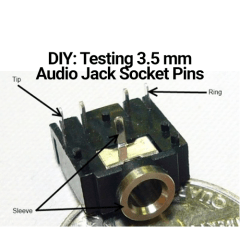 DIY: Finding the Ground Pin on an Audio Jack Socket