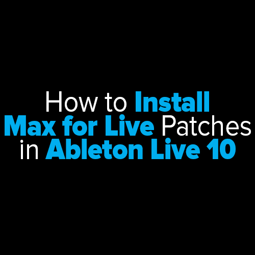 ableton live patches