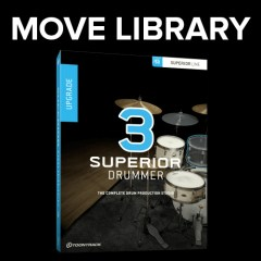 Tutorial: Move Superior Drummer 3 Core Library