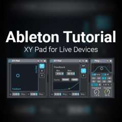 Ableton Tutorial: X Y Controller for Any Live Devices
