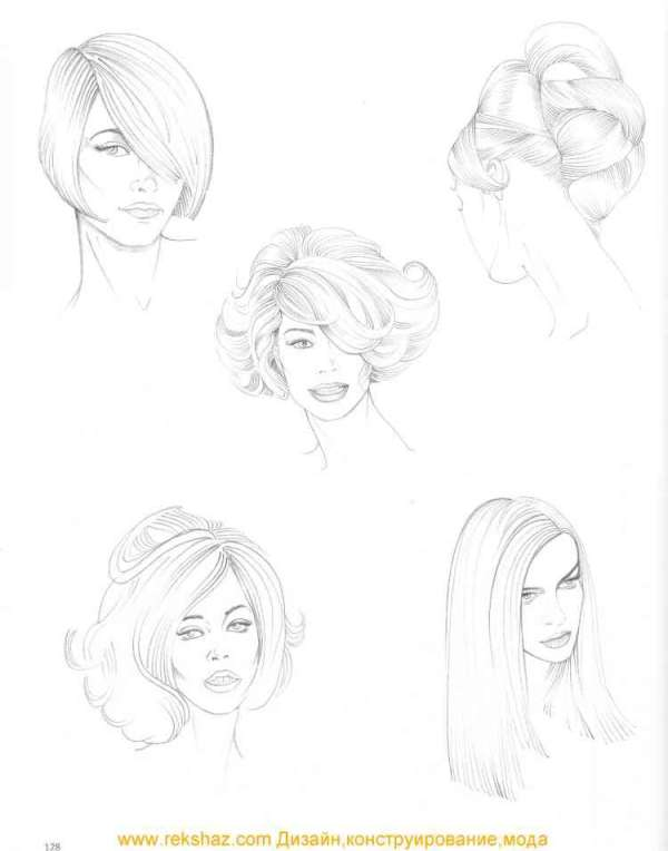 30 Pencil Sketches For Beginners Easy Hairstyles Hairstyles Ideas