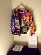The jacket on display at ZAIM
