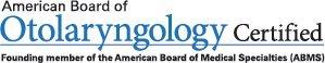 Board Certified ENT & Sleep Medicine