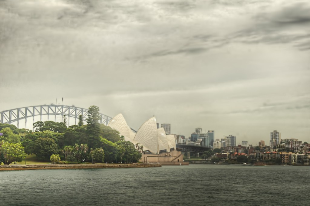 Sydney Harbor, Original Processing