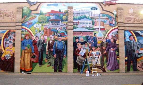 Artist Public Art Murals