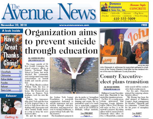 Organization Aims To Prevent Suicide Through Education