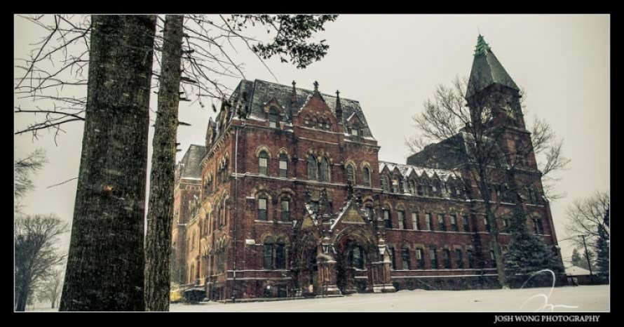 St. Paul's School - Abandoned Building